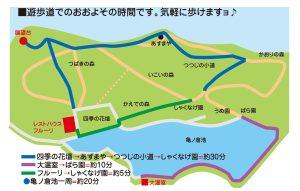 遊歩道コース